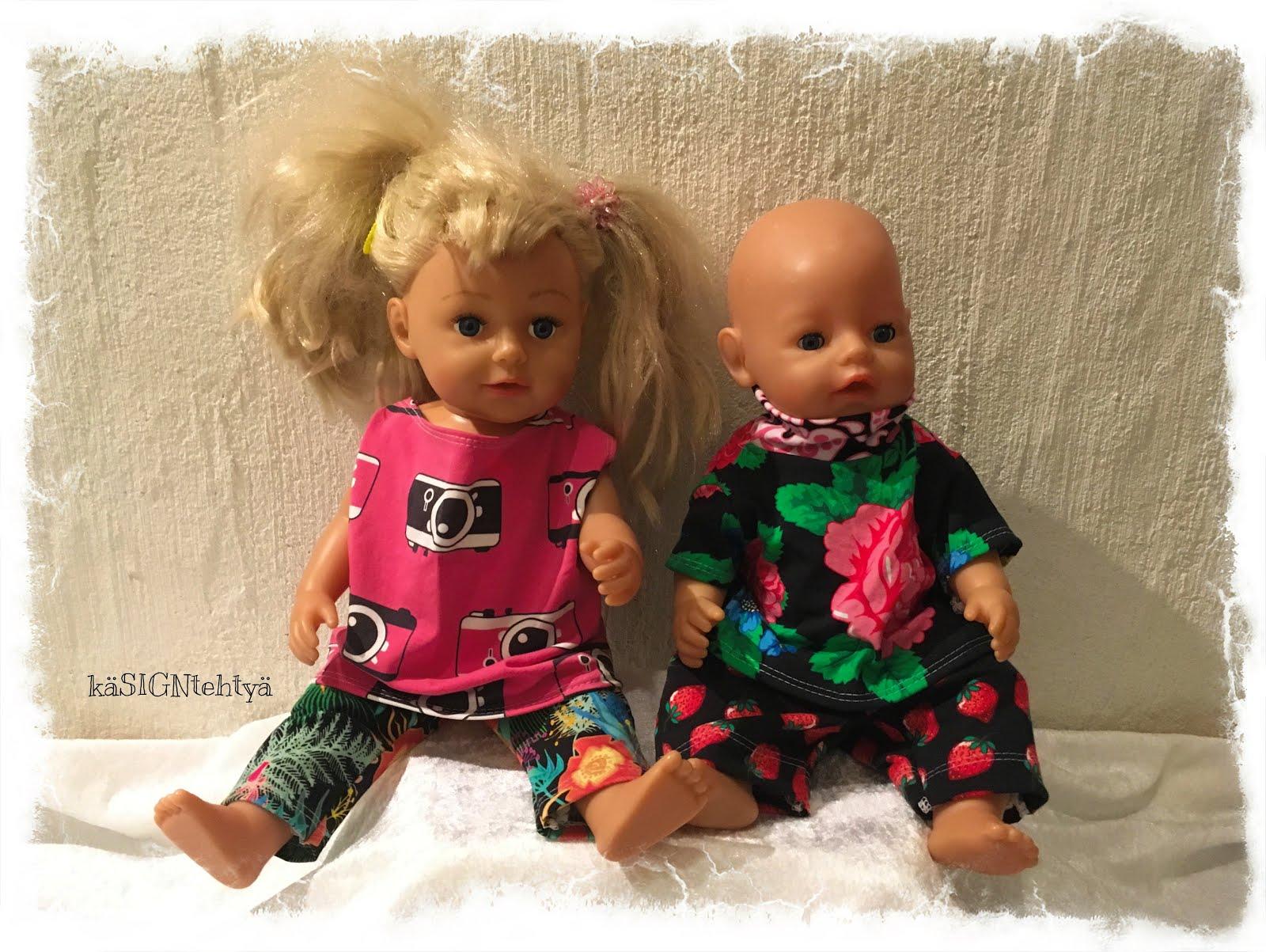 90b51f868ce0 käSIGNtehtyä  Vaatteita Baby Bornille ja Sisterille