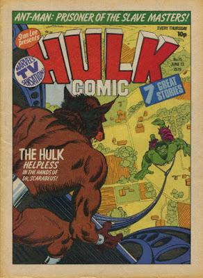 Hulk Comic #15, Dr Scarabeus