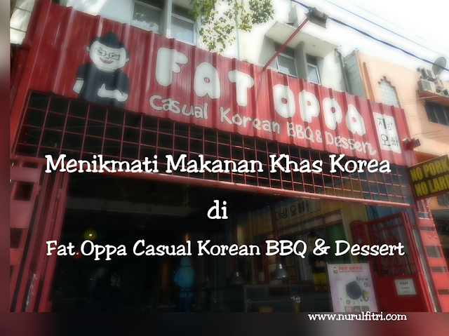 makanan korea di fat oppa