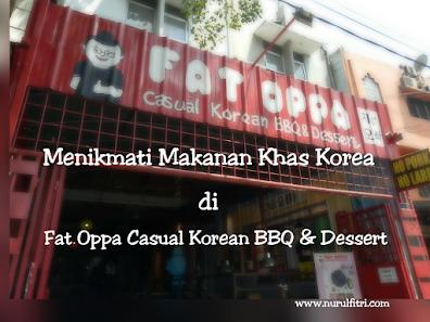 Makanan Korea di Fat Oppa Bandung