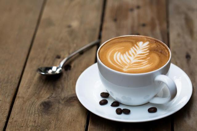 تشرب القهوة