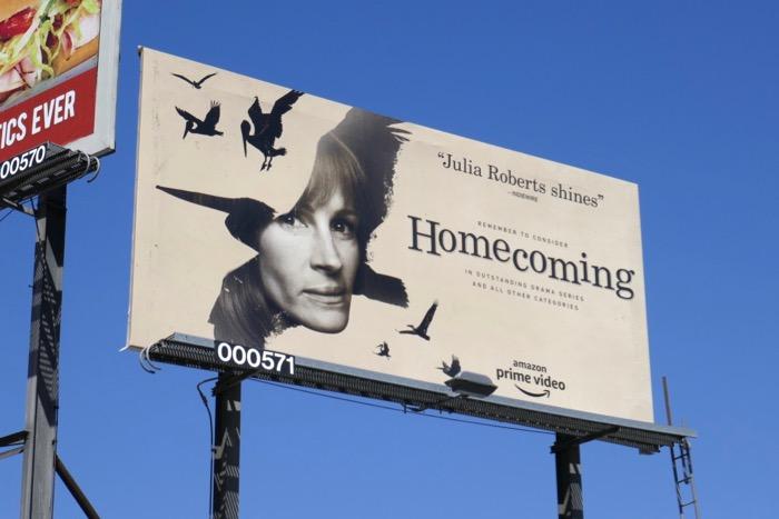 Julia Roberts Homecoming season 1 Emmy FYC billboard