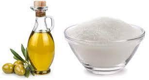 وصفة السكر وزيت الزيتون لتقشير الوجه