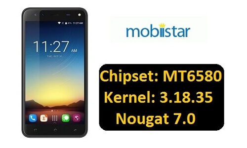 Mobiistar Zumbo ROM for MT6580 Kernel 3 18 35 NOUGET