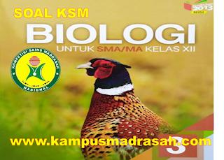 Soal Dan Jawaban KSM Mapel Biologi