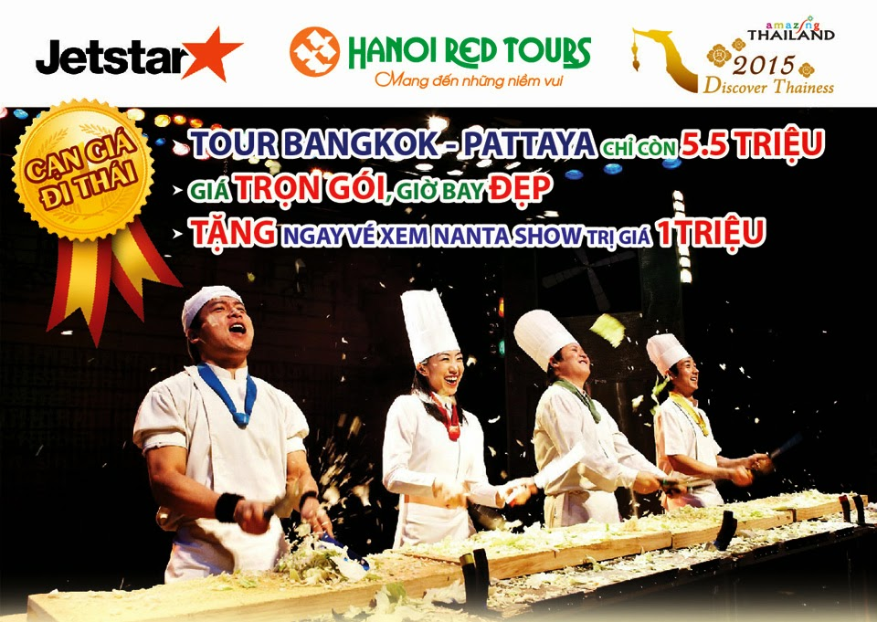 Du lịch Bangkok giá rẻ