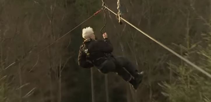 106-Year-Old Great-Great-Grandfather Became The Oldest Person To Ride A Zip Line