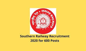 Southern Railway Recruitment for 600 CMP, Nursing Officer and Other Posts 2020