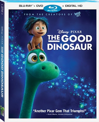 The Good Dinosaur 2015 BRRip 300Mb Dual Audio ORG 480p