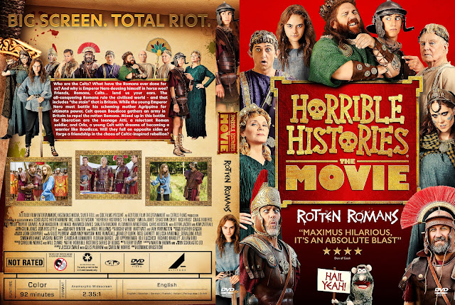 Horrible Histories The Movie - Rotten Romans DVD Cover