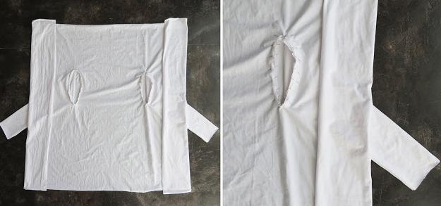 Bol Dökümlü Bluz Yapımı - Resimli Anlatım