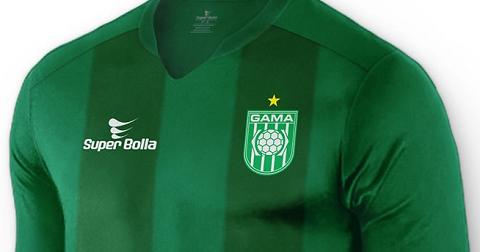 1d54750998386 Gama apresenta novos uniformes fabricados pela Super Bolla - Show de Camisas