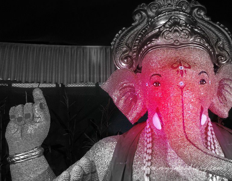 Creative Eco friendly Ganpati pandal hopping, Ganesh Chaturthi festival  Mumbai