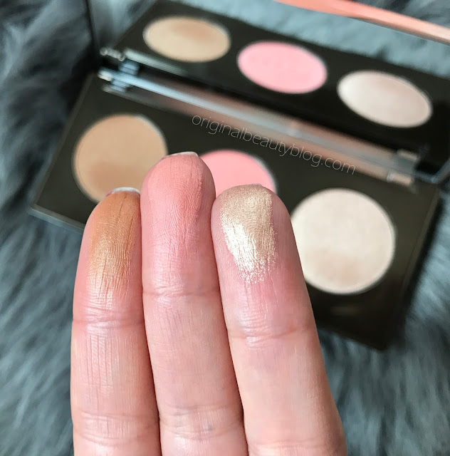 Becca Sunchaser Palette Swatches
