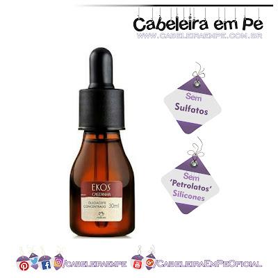 Óleo Concentrado de Castanha Ekos - Natura (sem sulfatos, sem petrolatos e sem silicones)