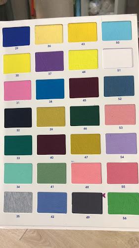 Bảng màu vải thun cotton 4 chiều