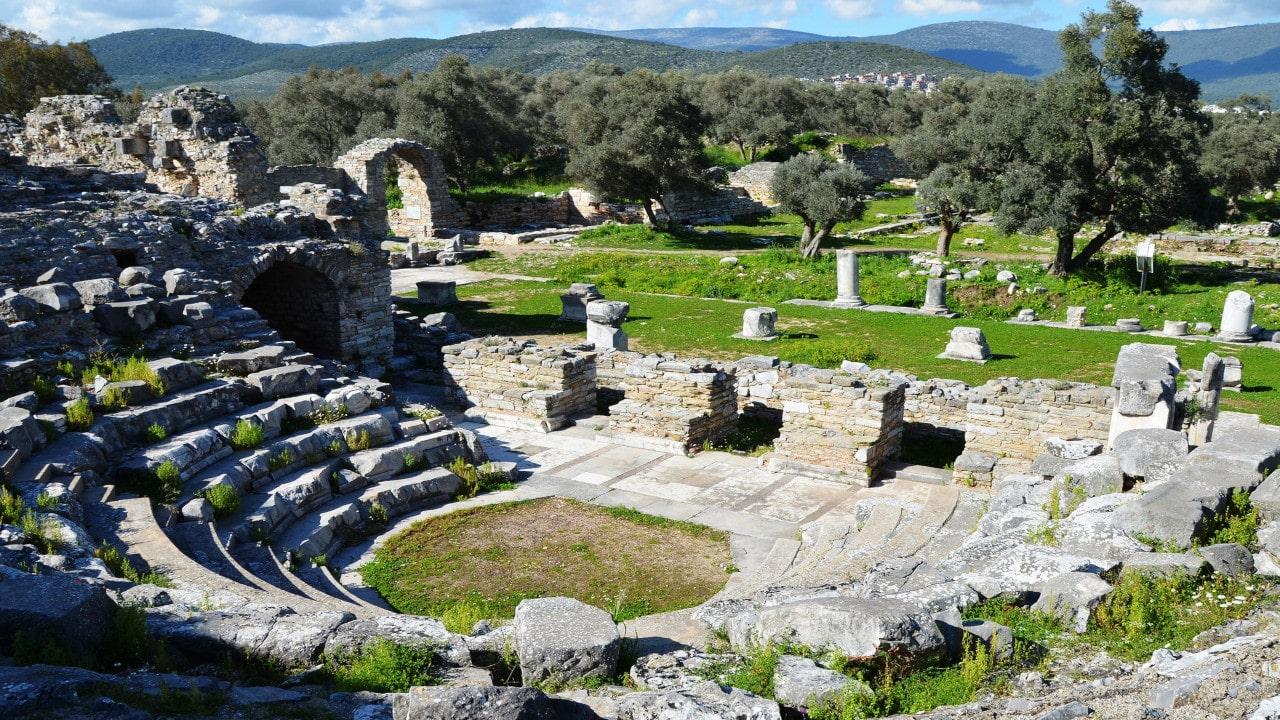elementos de la arquitectura griega