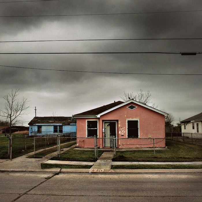 Abandoned Houses In New Orleans, Louisiana