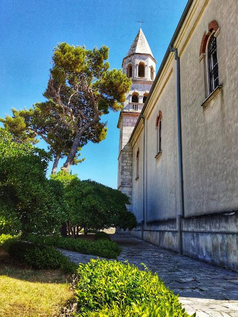 Crkva sv. Stošija Biograd na moru, Chorwacja