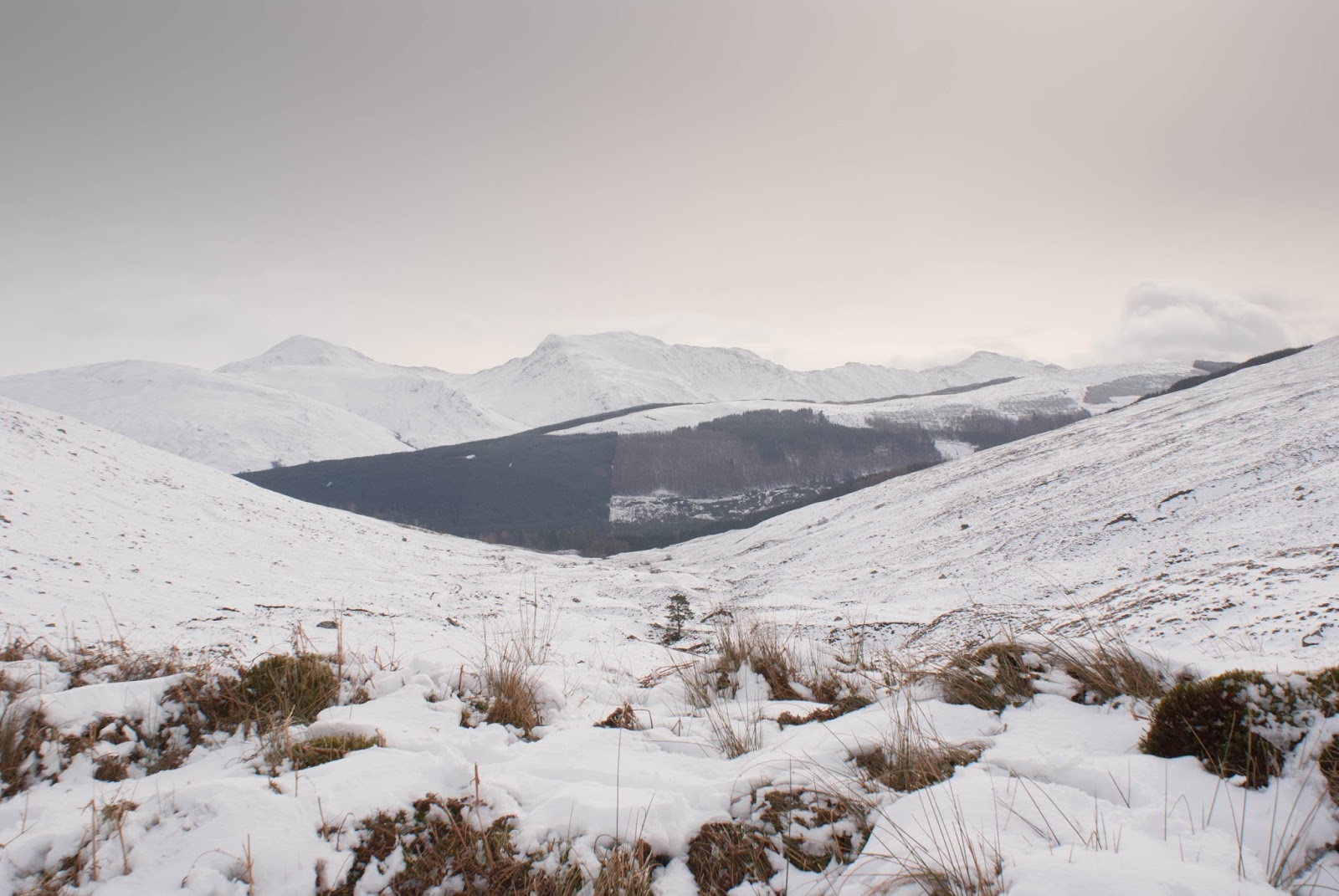 An sgarsoch the wrong kind of snow