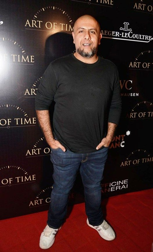 Vishal Dadlani Physical Appearance
