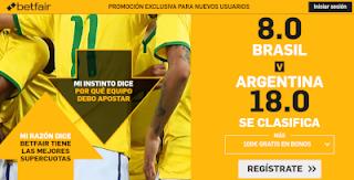 betfair supercuota Copa America pasa a semis Brasil o Argentina 3 julio 2019