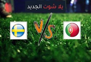 نتيجة مباراة البرتغال والسويد اليوم الاربعاء بتاريخ 14-10-2020 دوري الأمم الأوروبية