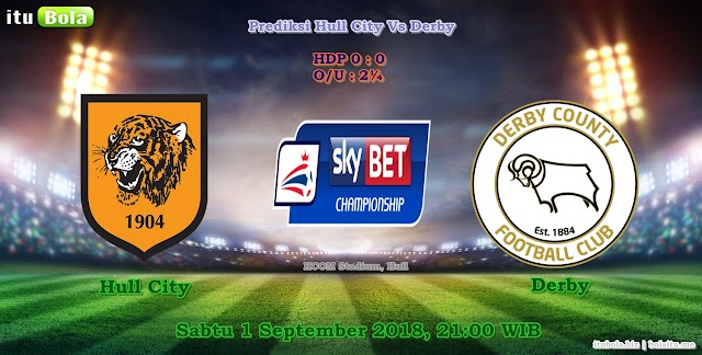 Prediksi Hull City Vs Derby - ituBola