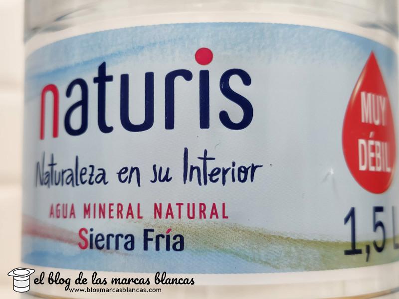 Agua mineral natural NATURIS (Lidl)