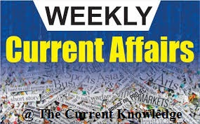 weekly Current affairs, pdf