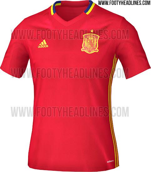 Desvelado el diseño de la camiseta de entrenamiento de España para ... 1df7328a0ba