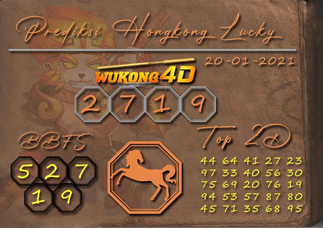 PREDIKSI TOGEL HONGKONG LUCKY 7 WUKONG4D 20 JANUARY 2021