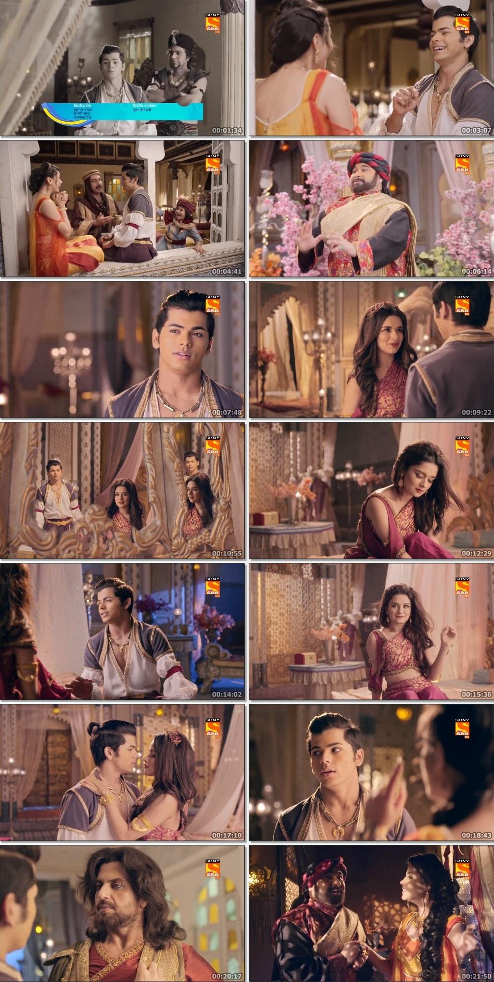 Screenshots Of Hindi Show Aladdin – Naam Toh Suna Hoga 2019 Episode 247 300MB 720P HD