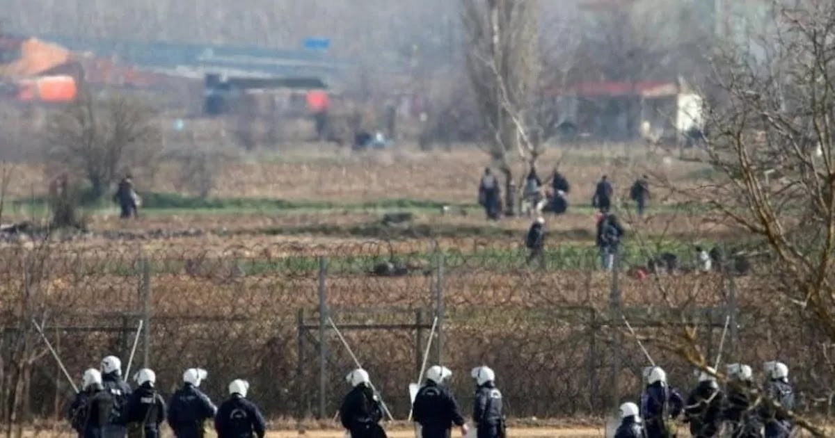 Turkish Soldier Shoots At German Border Guards Stationed At The Greek Border Of Evros