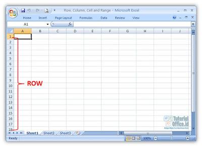 Row Microsoft Excel