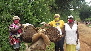 Famílias da Região da Borborema recebem doações da LBV durante a pandemia