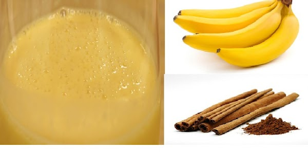 DRINK COMBINATION OF BANANA + KAYUMANIS 1 HOUR BEFORE YOU SLEEP, AND FEEL THEIR EXTENSIVE BENEFITS !!!