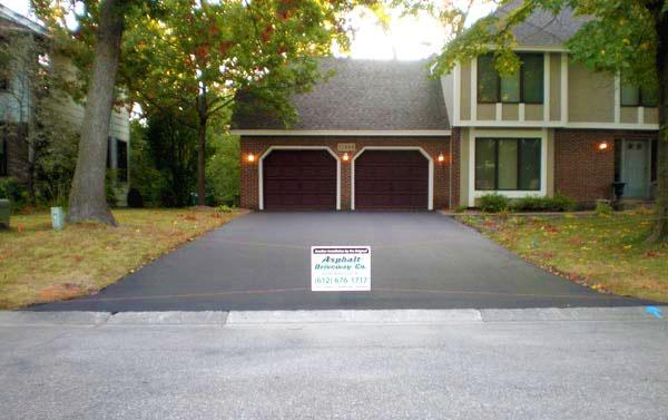 home improvement - asphalt driveway