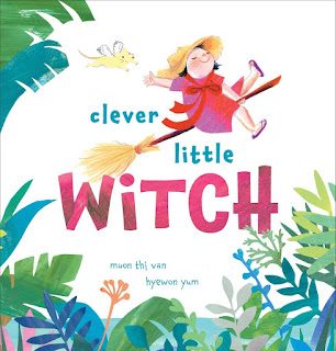Book cover of Clever Little Witch