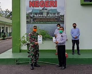 PT Bhaskara Sinar Sakti Grup Dukung Korem 042/Gapu Lawan Covid-19
