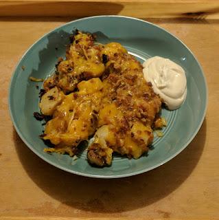Cheesy Potatoes with Bacon