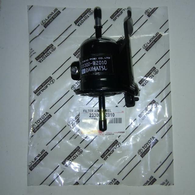 Filter bahan bakar yang terdapat pada mobil avanza injeksi