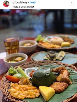 Makan Siang Nikmat di De' Leuit Resto Bogor