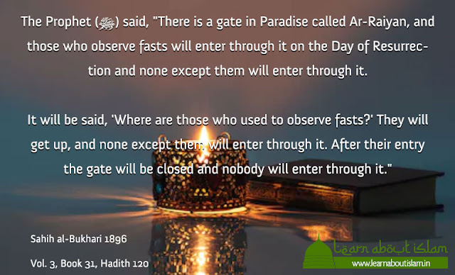 Ramadan hadith and quotes