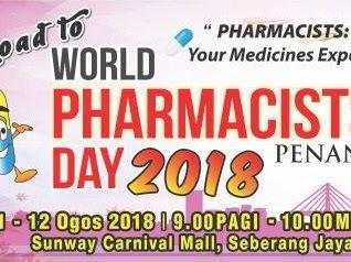Sambutan Hari Farmasi Sedunia Peringkat Negeri Pulau Pinang 2018