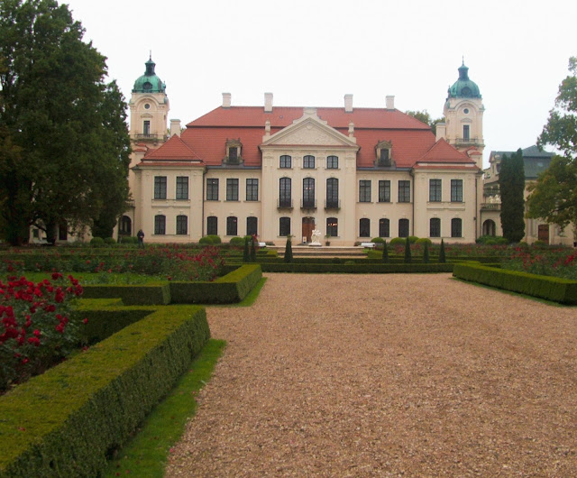 ogród, Muzeum Zamoyskich w Kozłówce, tył