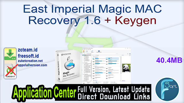East Imperial Magic MAC Recovery 1.6 + Keygen_ ZcTeam.id