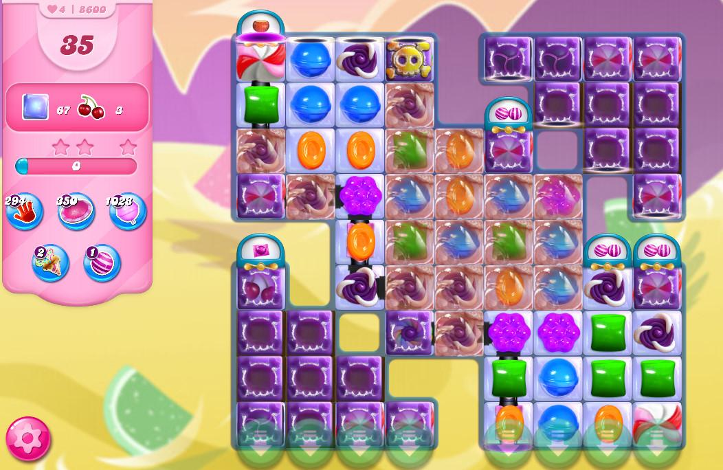 Candy Crush Saga level 8600