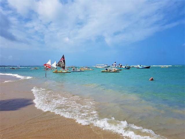 Porto de Galinhas - Pernambuco. Mergulho, Barcos, Praia