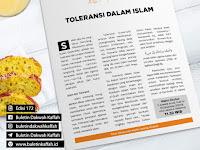 *TOLERANSI DALAM ISLAM*